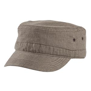 District - Houndstooth Military Hat Style DT619