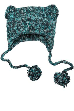 District – Hand Knit Cat-Eared Beanie Style DT626 1