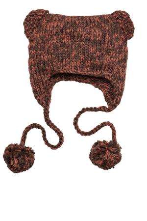 District - Hand Knit Cat-Eared Beanie Style DT626