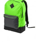 District - District Retro Backpack Style DT715 Neon Green