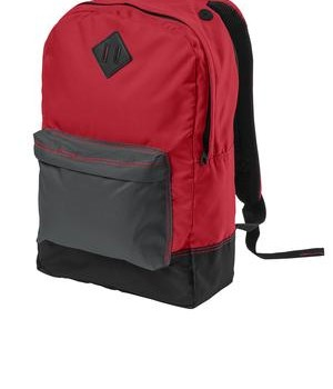 District – District Retro Backpack Style DT715 New Red
