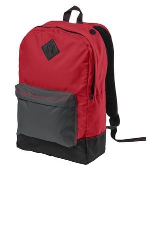 District - District Retro Backpack Style DT715 New Red