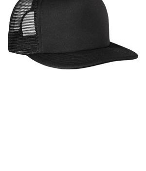 District – Flat Bill Snapback Trucker Cap Style DT624 1
