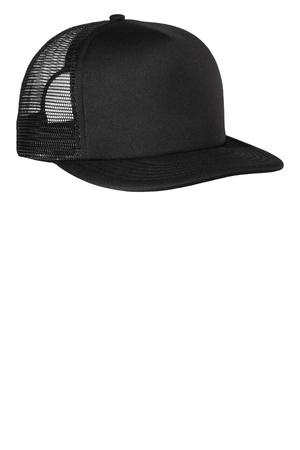 District - Flat Bill Snapback Trucker Cap Style DT624