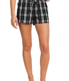 District -Juniors Flannel Plaid Boxer Style DT2801