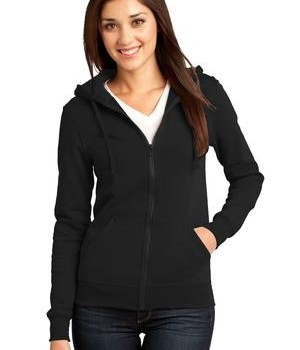 District – Juniors The Concert Fleece Full-Zip Hoodie Style DT801 1