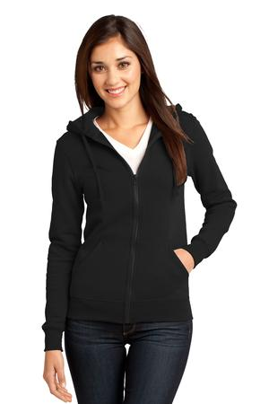 District - Juniors The Concert Fleece Full-Zip Hoodie Style DT801