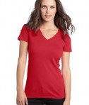 District - Juniors The Concert Tee V-Neck Style DT5501