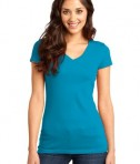 District - Juniors Very Important Tee V-Neck Style DT6501