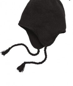 District - Knit Hat with Ear Flaps Style DT604
