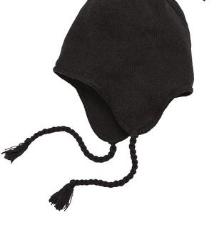 District – Knit Hat with Ear Flaps Style DT604 1