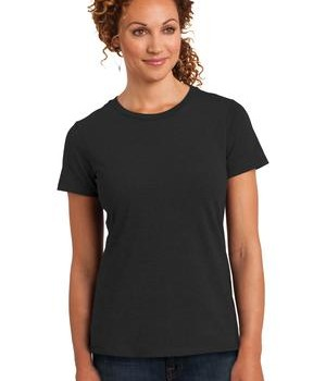 District Made Ladies Perfect Blend Crew Tee Style DM108L 1