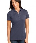 District Made - Ladies Slub Polo Style DM450