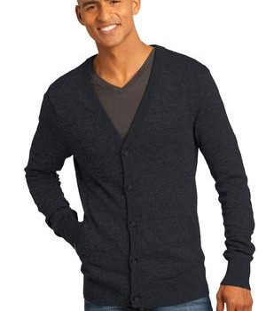 District Made – Mens Cardigan Sweater Style DM315 1