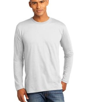 District Made Mens Perfect Weight Long Sleeve Tee Style DT105 1