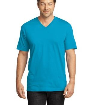 District Made Mens Perfect Weight V-Neck Tee Style DT1170 1
