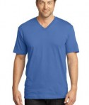 District Made Mens Perfect Weight V-Neck Tee Style DT1170