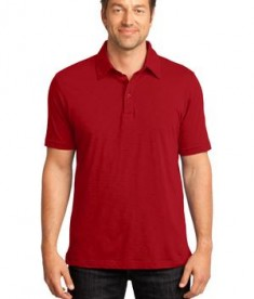 District Made - Mens Slub Polo Style DM350
