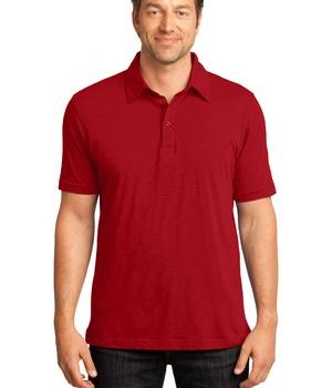 District Made – Mens Slub Polo Style DM350 1