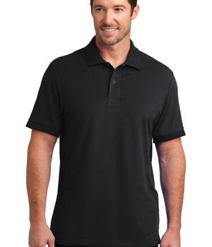 District Made Mens Stretch Pique Polo Style DM325 1
