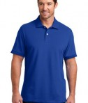 District Made Mens Stretch Pique Polo Style DM325