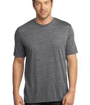 District Made – Mens Textured Crew Tee Style DM370 1