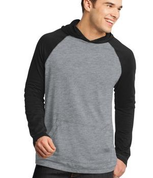 District – Young Mens 50/50 Raglan Hoodie Style DT128 1