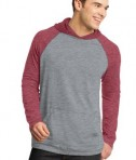 District - Young Mens 50/50 Raglan Hoodie Style DT128