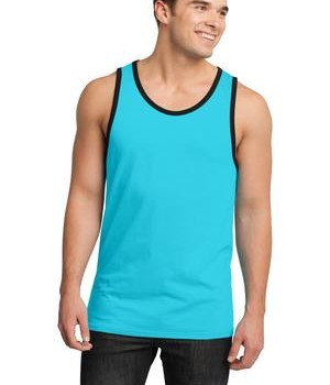 District – Young Mens Cotton Ringer Tank Style DT1500 1