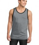 District - Young Mens Cotton Ringer Tank Style DT1500