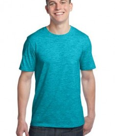 District - Young Mens Extreme Heather Crew Tee Style DT1000