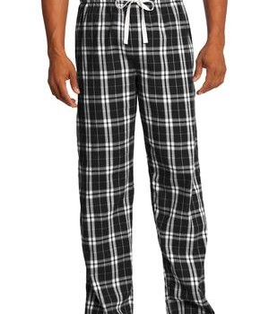 District – Young Mens Flannel Plaid Pant Style DT1800 1