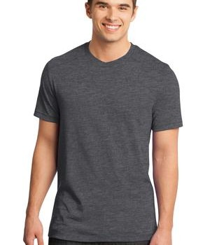 District – Young Mens Gravel 50/50 Notch Crew Tee Style DT1400 1