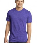 District - Young Mens Gravel 50/50 Notch Crew Tee Style DT1400
