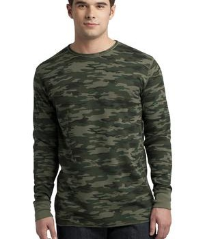 District – Young Mens Long Sleeve Thermal Style DT118 1