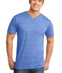 District - Young Mens Microburn V-Neck Tee Style DT161