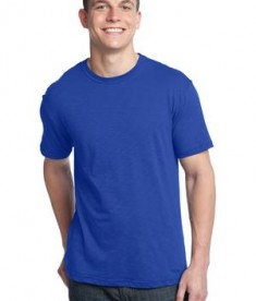 District - Young Mens Slub Crew Neck Tee Style DT140