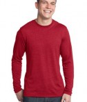 District - Young Mens Textured Long Sleeve Tee Style DT171