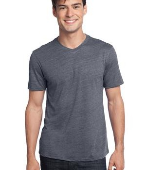 District – Young Mens Textured Notch Crew Tee Style DT172 1