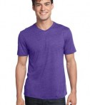 District - Young Mens Textured Notch Crew Tee Style DT172