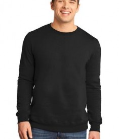 District - Young Mens The Concert Fleece Crew Style DT820
