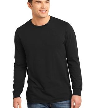 District – Young Mens The Concert Tee Long Sleeve Style DT5200 1