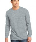 District - Young Mens The Concert Tee Long Sleeve Style DT5200