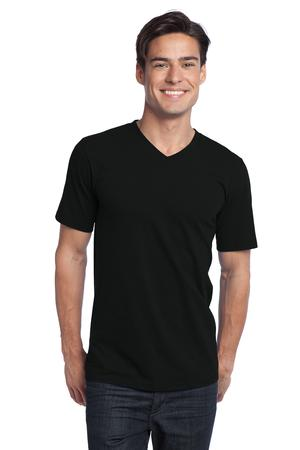 District - Young Mens The Concert Tee V-Neck Style DT5500