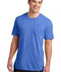 District Young Mens Very Important Tee with Pocket Style DT6000P