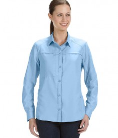 Dri Duck Ladies' Release Fishing Shirt Sky