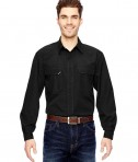 Dri Duck Men's Field Shirt Black