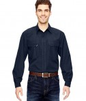 Dri Duck Men's Field Shirt Deep Blue
