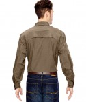 Dri Duck Men's Field Shirt Back