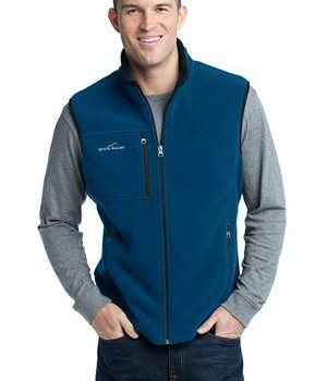 Eddie Bauer – Fleece Vest Style EB204 Deep Sea Blue